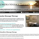 komoka message therapy in komoka ontario website design by power flower web design kendell hall