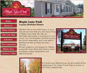 maple lane park - seniors living for rent st marys ontario seniors homes maple lane seniors home in st marys ontario