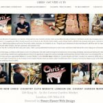 Chris Country cuts mobile friendly website design by power flower web design