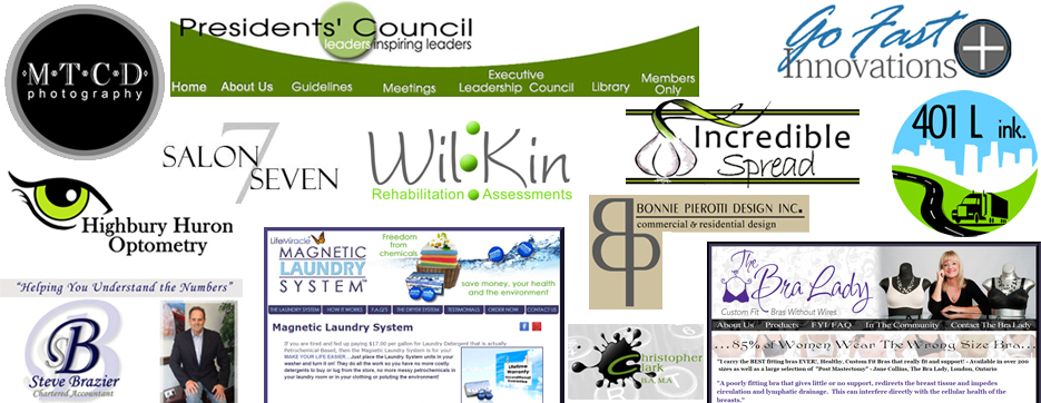 logo design, web design london ontario power flower web design