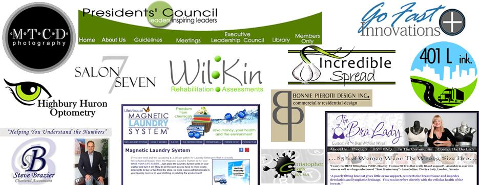 logo design, web design london ontario power flower web design